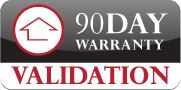 90 day warranty logo